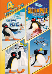 On thin Ice / South Pole Adventures / Meet Pingu / Chillin with Pingu (4 Feature Set) (MAPLE)