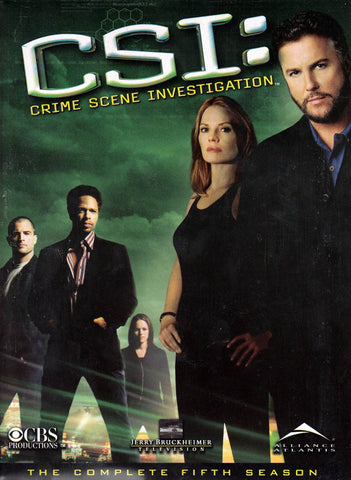CSI - The Complete Fifth (5) Season (Boxset) DVD Movie