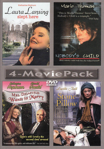 Laura Lansing Slept Here/Nobody s Child/Mrs. Delafield Wants To Marry/Stone Pillow (4 Movie Pack) DVD Movie