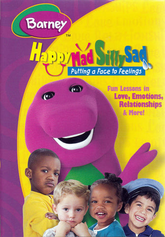 Barney - Happy Mad Silly Sad - Putting A Face To Feelings (MAPLE) DVD Movie
