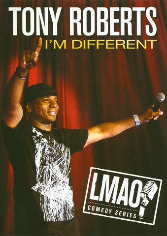 Tony Roberts - I'm Different DVD Movie