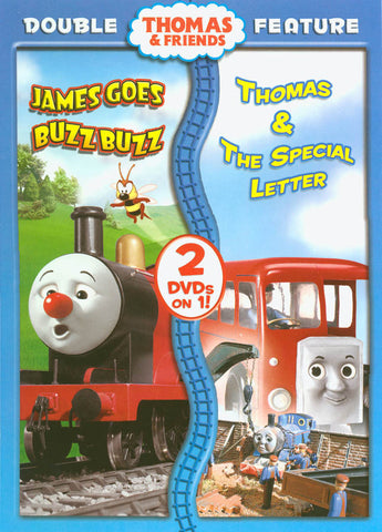 Thomas & Friends - James Goes Buzz Buzz / Thomas & the Special Letter (Double Feature) (Anchor Bay) DVD Movie