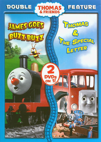 Thomas & Friends - James Goes Buzz Buzz / Thomas & the Special Letter (Double Feature) (MAPLE) DVD Movie