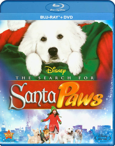 The Search For Santa Paws (Blu-ray + DVD Combo) DVD Movie