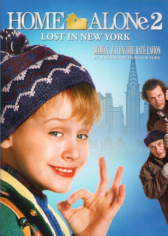 Home Alone 2 - Lost In New York (Maman, J ai Encore Rate L Avion) (2015 Version) DVD Movie