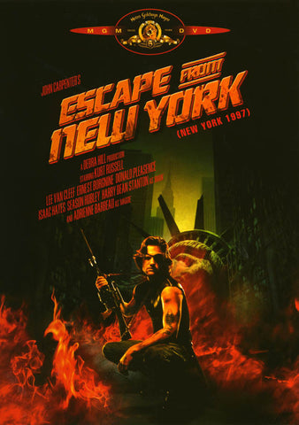 Escape from New York (Bilingual) DVD Movie