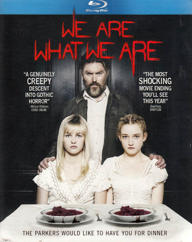 We Are What We Are (Blu-ray) BLU-RAY Movie