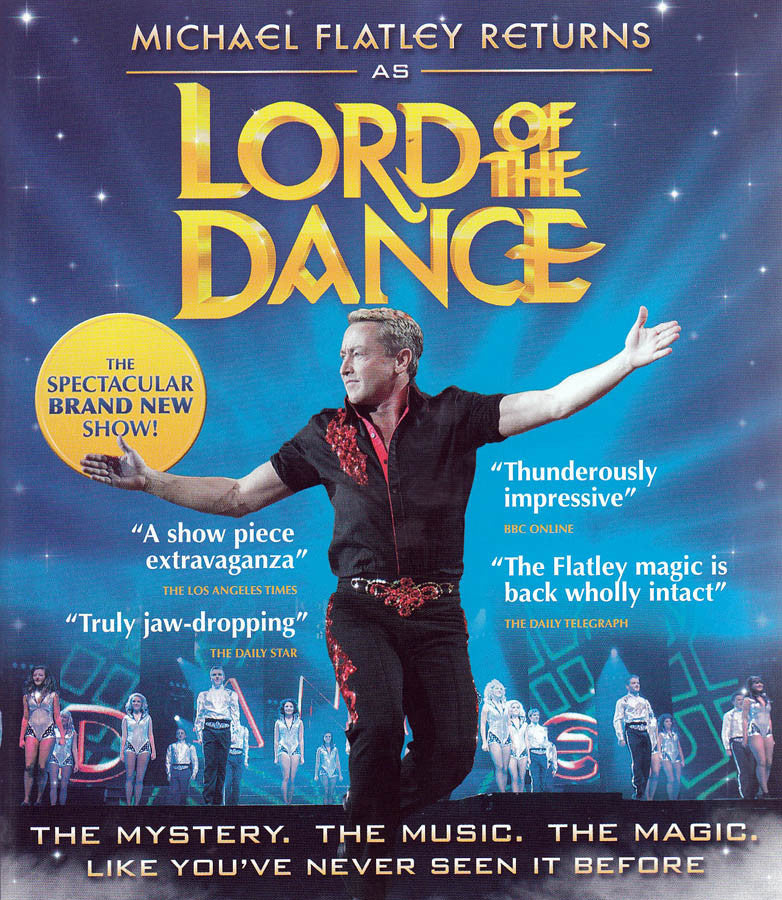 Michael Flatley Returns as Lord of the Dance (Blu-ray) BLU-RAY Movie