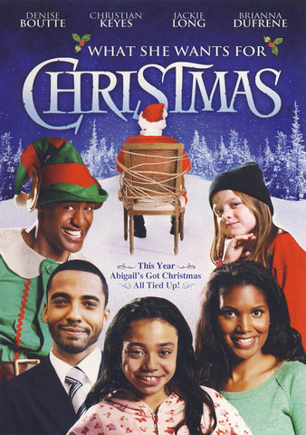 What She Wants for Christmas DVD Movie