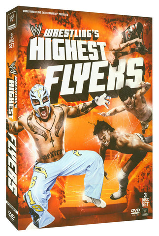 WWE - Wrestling s Highest Flyers (Boxset) DVD Movie