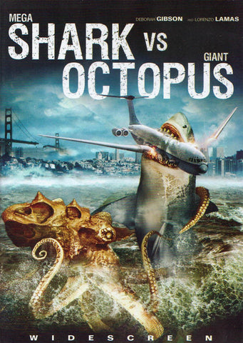 Mega Shark vs. Giant Octopus (Echo Bridge) DVD Movie