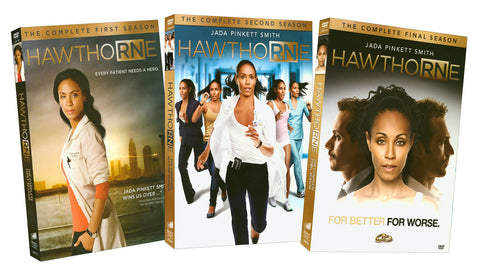 Hawthorne - The Complete Season 1 / 2 / 3 (Boxset) DVD Movie