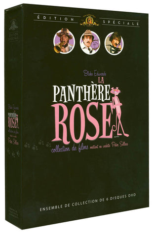 La Panthere Rose - Coffret 5 Films (Boxset) DVD Movie