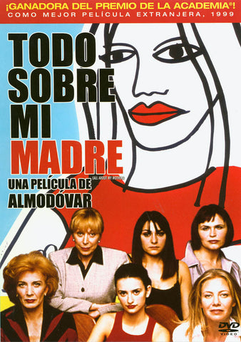 Todo Sobre Mi Madre (All About My Mother) DVD Movie