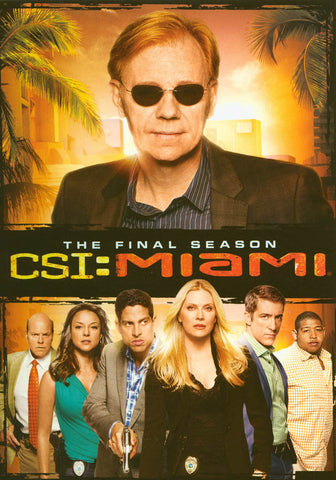 CSI: Miami - The Final Season (Keepcase) DVD Movie