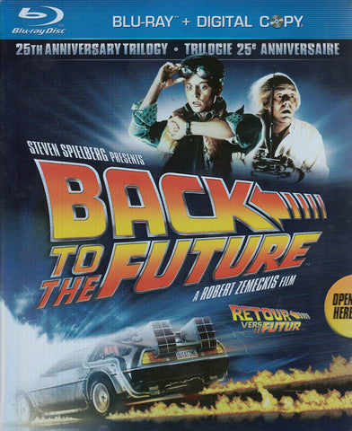 Back to the Future - 25th Anniversary Trilogy (Blu-ray + Digital Copy) (Blu-ray) (Boxset) (Bilingual BLU-RAY Movie