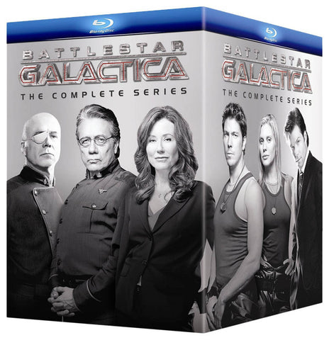 Battlestar Galactica - The Complete Series (Blu-ray) (Boxset) BLU-RAY Movie