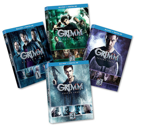 Grimm - The Complete Series - Season 1-4 (4 pack) (Blu-ray) (Boxset) BLU-RAY Movie