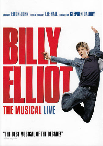 Billy Elliot - The Musical Live (White Cover) DVD Movie