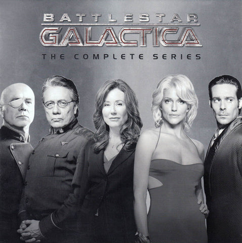 Battlestar Galactica: The Complete Series (Boxset) DVD Movie