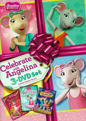 Angelina Ballerina - Celebrate with Angelina 3-DVD Set (Bilingual)