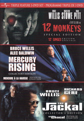 12 Monkeys / Mercury Rising / The Jackal (Triple Feature) (Bilingual)