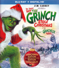 Dr. Seuss - How The Grinch Stole Christmas (Blu-ray + Digital HD) (Bilingual)