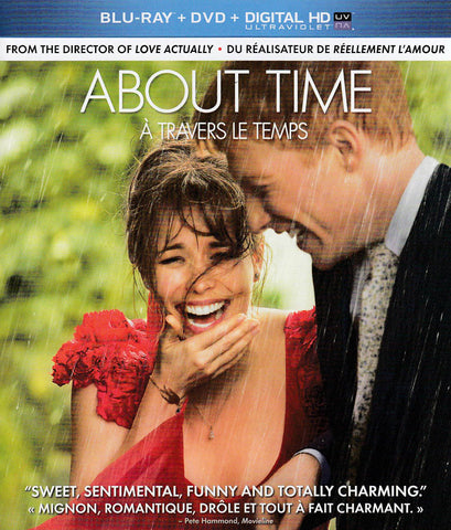 About Time (Bilingual) (Blu-ray + DVD + Ultraviolet Copy) DVD Movie