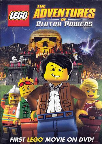 LEGO: The Adventures of Clutch Powers DVD Movie