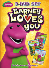 Barney Loves You 3-DVD Set