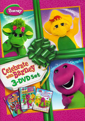 Barney Celebrate with Barney 3-DVD Set