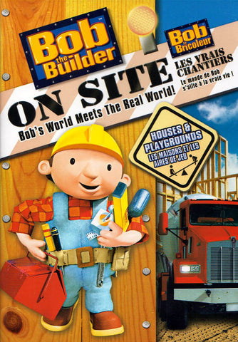 Bob The Builder - House and Playgrounds (Bilingual) DVD Movie