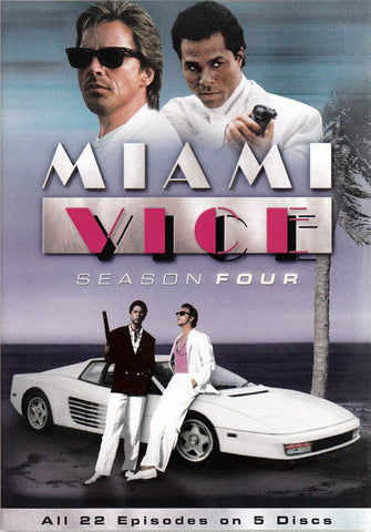 Miami Vice: Season 4 (Keepcase) DVD Movie