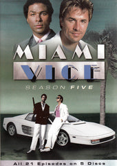 Miami Vice: Season 5 (Keepcase)