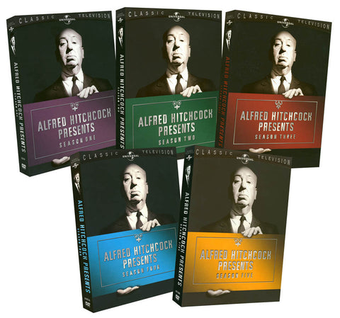 Alfred Hitchcock Presents - Season 1 - 5 (5 pack) (Boxset) DVD Movie