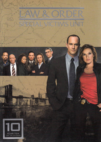 Law & Order - Special Victims Unit - The Tenth Year (Boxset) DVD Movie