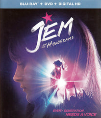 Jem and the Holograms (Blu-ray + DVD + Digital HD) (Blu-ray)