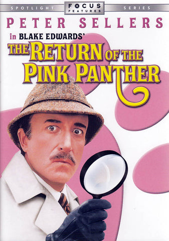 The Return of the Pink Panther DVD Movie