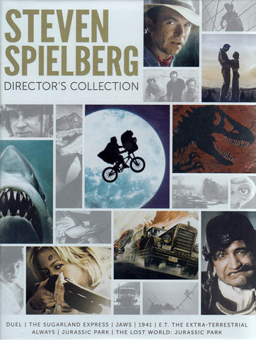 Steven Spielberg Director s Collection (Jaws ..... The Lost World) (Boxset) DVD Movie