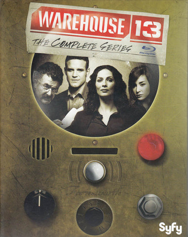 Warehouse 13: The Complete Series (Blu-ray) (Boxset) BLU-RAY Movie