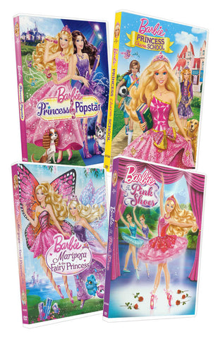 Barbie 4-Movie Collection (Bundle) (Boxset) DVD Movie