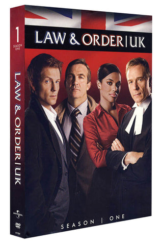 Law & Order UK: Season One (Boxset) DVD Movie