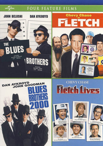 The Blues Brothers / Blues Brothers 2000 / Fletch / Fletch Lives DVD Movie