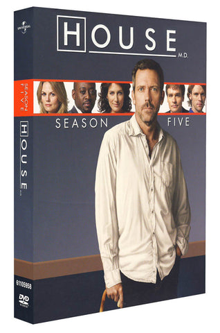 House, M.D.: Season 5 (Boxset) DVD Movie