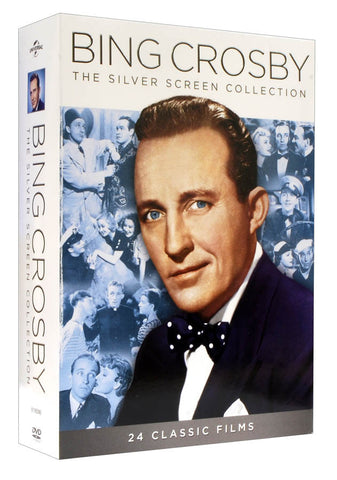 Bing Crosby: The Silver Screen Collection (24 Classic Films) (Boxset) DVD Movie