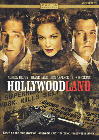 Hollywoodland DVD Movie