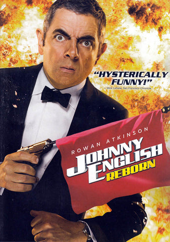 Johnny English Reborn DVD Movie