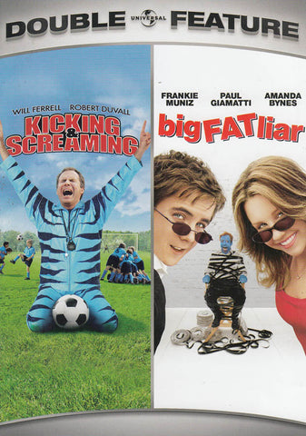 Kicking And Screaming / Big Fat Liar (Double Feature) DVD Movie