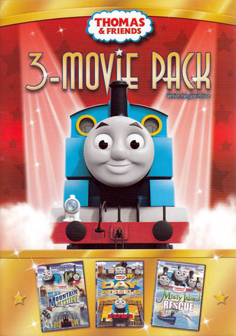 Thomas & Friends: 3 Movie Pack (Blue Mountain Mystery / Day of the Diesels / Misty Island Rescue) DVD Movie