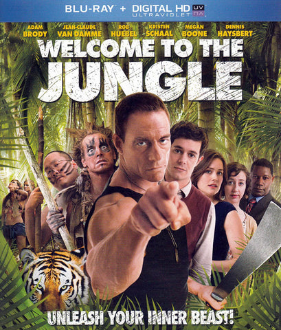 Welcome to the Jungle (Blu-ray + DIGITAL HD) DVD Movie